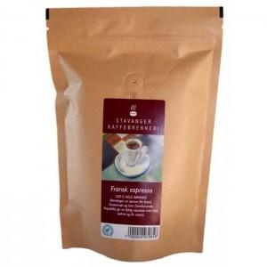 Fransk espresso økologisk