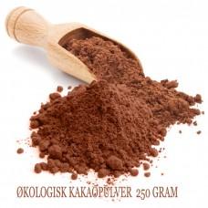 ØKOLOGISK KAKAOPULVER 250 GRAM