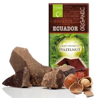 ECUADOR 70% DARK CHOCOLATE HAZELNUT