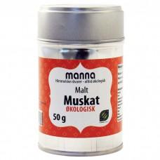MUSKATNØTT PULVER 50 GRAM