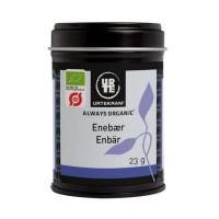 Einebær/ Enebær, økologisk