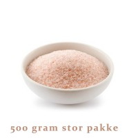 Himalayasalt familiepakning 500 gram