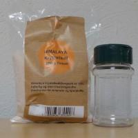 Himalayasalt familiepakning 250 gram