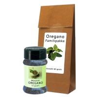Oregano 1 glass + stor refil pakke