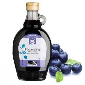 Blåbærsirup, Urtekram - Økologisk 250 ml