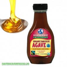 Agavesirup, økologisk, rå. 333 gram