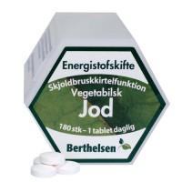 Jod tilskudd - Berthelsen 180 tabletter