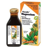 Floradix Flytende mineraltilskudd - Magnesium 250 ml