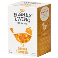 Higher living - Golden turmeric krydder te