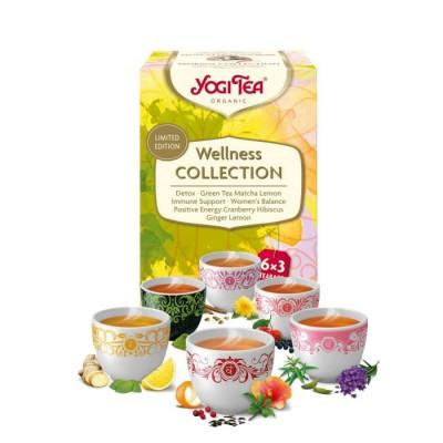 Yogi Tea - Wellness collection 18 teposer