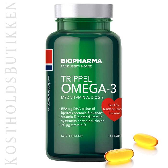 omega 3 kapsler eller tran