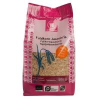Organic whole grain jasminrice 500 grams