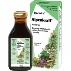 Floradix Alpenkraft urtesirup for hals og svelg
