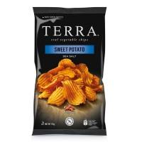 Chips med søtpotet og havsalt