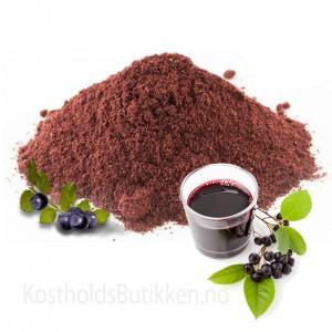 Aronia Pulver Økologisk (Svartsurbær)