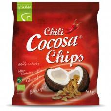 CHILI CHIPS NATURLIG KOKOS 60 GRAM