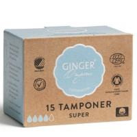 Økologiske tamponger -15 stk super