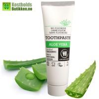 Organic toothpaste with aloe vera 75 ml.