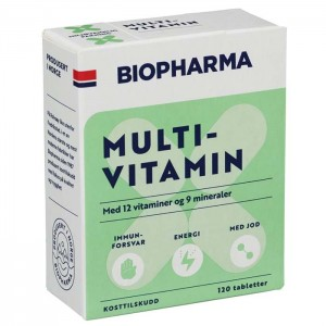 BIOPHARMA MULTIVITAMIN M/JOD