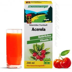 Acerola naturlig vitamin C
