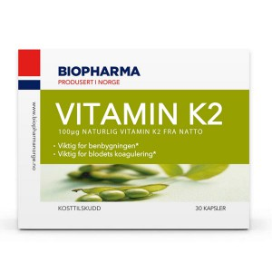 Biopharma vitamin K2
