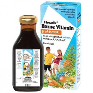 Floradix barnevitamin med fruktsmak