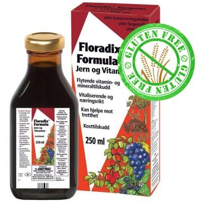 Floradix Formula - Jern - Vitamin og Mineraltilskudd