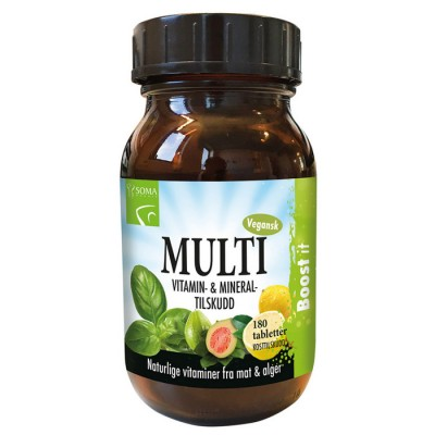 MULTIVITAMINER BOOST-IT